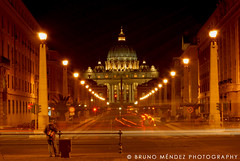 Witness (BRUNO MNDEZ PHOTOGRAPHY) Tags: italy rome roma night lights exposure italia vaticano sanpedro santpietro blueribbonwinner mndez supershot outstandingshots abigfave shieldofexcellence cmeradeourobrasil anawesomeshot colorphotoaward irresistiblebeauty travelerphotos favemegroup3 diamondclassphotographer brunomndez brunomndezphotography