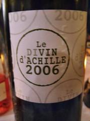 Le Divin d'Achille 2006