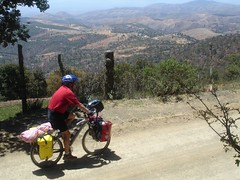 Randy riding above Guanajuato