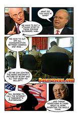 Cheney & Rove discuta bloggerii soldati