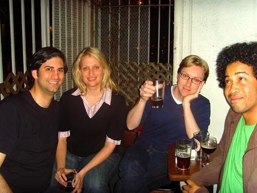 Josh, Jen, Tim & Kenyatta