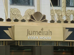 Jumeirah Essex House (CourtneyMay) Tags: nyc ny newyork sign weekend manhattan april newyorkny 2007 april2007 jumeirahessexhouse
