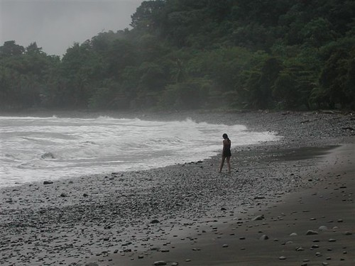 Beach near Villa Nicolas, Costa Rica