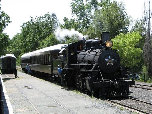 Railtown Steam Train