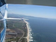 Monterey Coast Behind Citabria N5156X