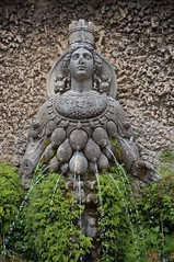 Mother nature (menteblu61) Tags: roma fountain architecture tivoli fontana architettura mothernature villadeste madrenatura pilloro