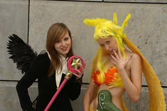 Card Captor Sakura / Siren, Final Fantasy VIII (cosplay shooter) Tags: costumes girls anime comics costume comic artistic cosplay expression manga leipzig card final fantasy convention sakura cosplayer viii finalfantasy coolest siren breathtaking rollenspiel buchmesse 2007 roleplay lbm captor interestingness368 i500 leipzigerbuchmesse aplusphoto 20000z x201207