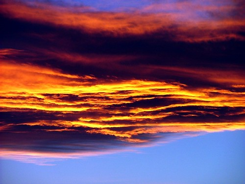 Sunset cloud - Northern Arizona
