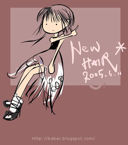 2005-06-11 new-hair