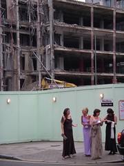 Ballgowns and demolition