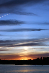 Idaho Sky #1 (Weave) Tags: ericweaver idaho coeurdalene sunset dusk twilight crpuscule dmmerung crepsculo tramonto vreedzaam paisible ruhig pacifico calmo