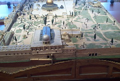 Temple Complex Diorama at the Bible Museum