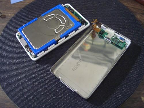 iPod taken apart