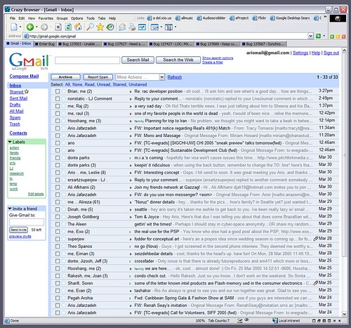 gmail overload by ario_j.