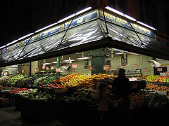 Produce at Night, Astoria, Queens