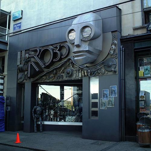 tienda de robots futuro