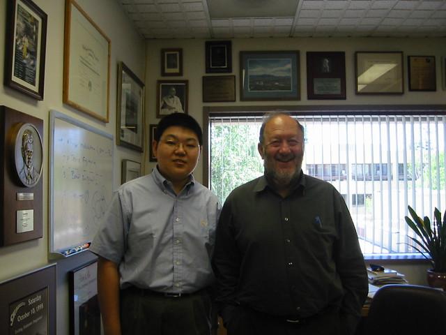Dr. Weissman & me