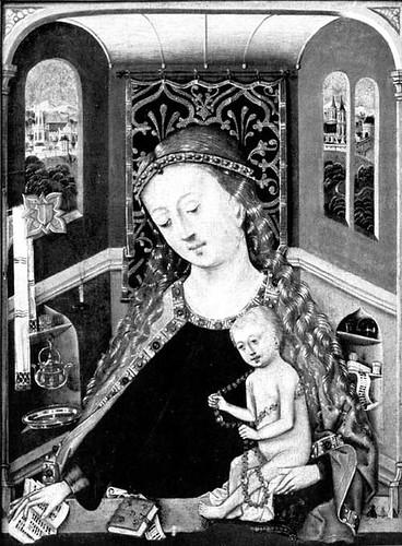 Madonna im Erker
