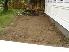 turned soil