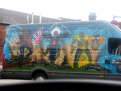Best van is the world ever? (George Pollard) Tags: rock metal rules wicked hardcore vehicle eddie van mayhem ironmaiden airbrushed fearofthedark eddiethehead bestvanintheworldever thetrooper caniplaywithmadness