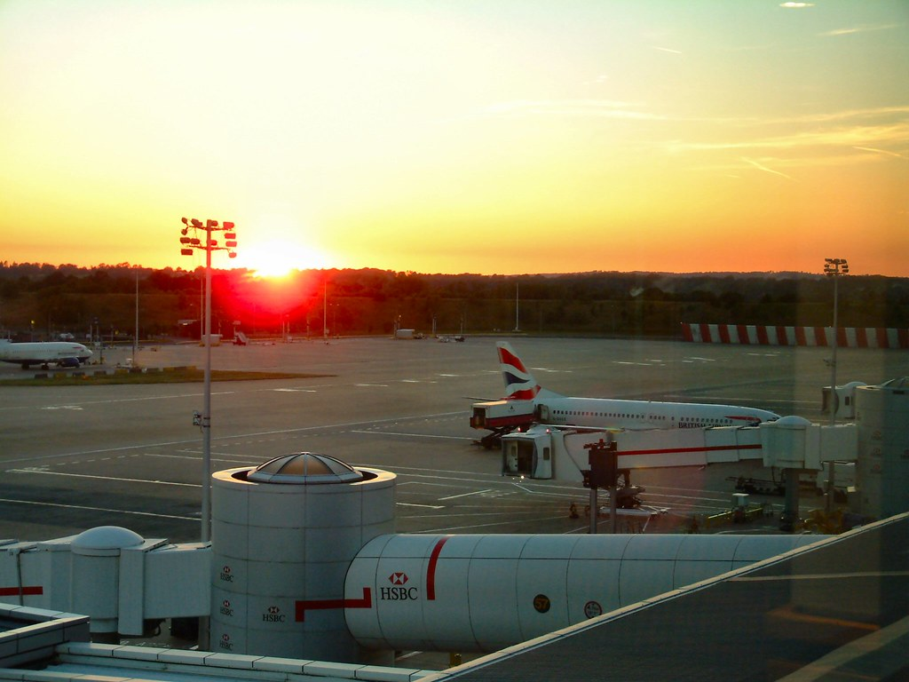 Gatwick Sunset - North Terminal