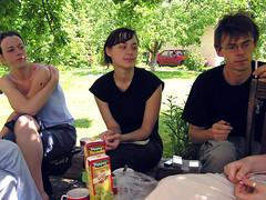 Akvile, Viktorija ir Saras (Kukas) Tags: akvilessodas akvile viktorija saras