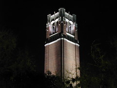 Century Tower at Night by fuzzcat on Flickr