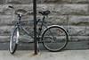 Parked bike (Sol Lang) Tags: street canada sol bike basket montréal montreal locked lang sollang netneutrality utatafeature heutekunst sollangphotographs