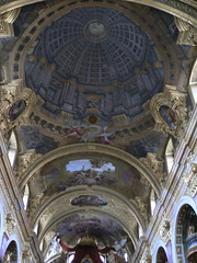Ceiling of the Jesuit Church in Vienna