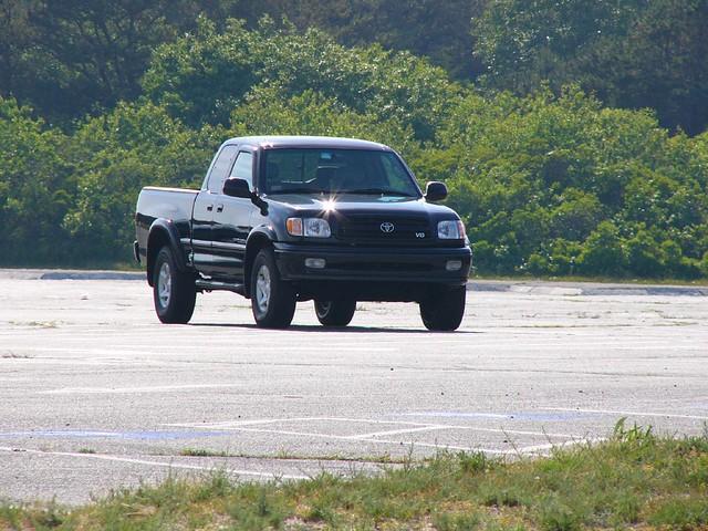 toyota tundra black 2002 pickuptruck truck theballs