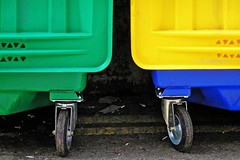colourful bins (Leo Reynolds) Tags: green yellow catchycolors olympus bin c770uz f32 iso64 0ev 0005sec hpexif minicardphoto01 leol30random 279mm groupcatchycolors xratio32x xleol30x