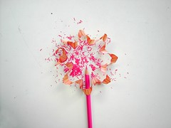 sharp-flower (mohawk) Tags: wood pink copyright flower art love look liverpool pencil photography see photo paint photographer arte d kunst s sean sharp ornament surprise mohawk decorate 2009 08 garnish wirral magie veiw magia     limbert mgica magisch