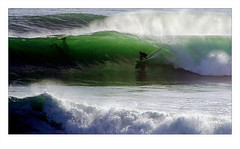 in the green room (astrocruzan) Tags: santacruz california surfing steamerlane overhead middlepeak kelp curl tube