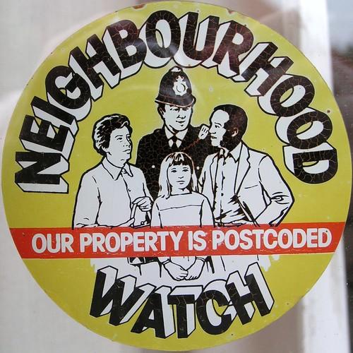 Neighbourhood Watch Stickers. NEIGHBOURHOOD WATCH STICKER