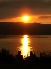 Summer Sunset from Inverkip - 1 - by colinjcampbell