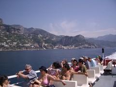 Ferry to Positano