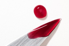 Cherry red foul play (fd) Tags: fruit cherry red knife catchycolors closeup