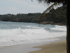 Waves crashing on Surin Beach Photo credit: Michael Sarver