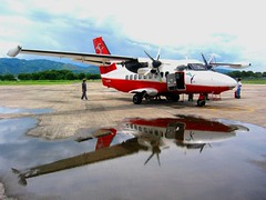 Let 410 UVP (Farl) Tags: travel reflection colors plane airplane airport philippines adventure transportation sulu mindanao avia zamboanga tawitawi let410