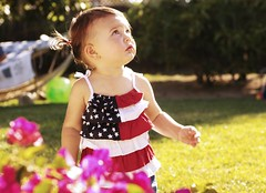are you sure about this whole red, white & blue thing? (jen clix) Tags: party color toddler child flag barbecue tc50patriotic