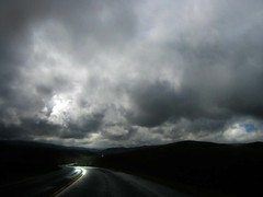 Coming Home (Tonym1) Tags: road sky clouds photoshop landscape