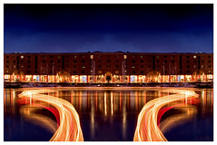 Albert Docks Light (petecarr) Tags: longexposure liverpool canon 10d lighttrail albertdocks