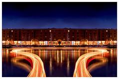 Albert Docks Light (petecarr) Tags: longexposure liverpool canon 10d lighttrail albertdocks