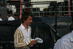 Muse - Matthew Bellamy (iko) Tags: live8 live8paris paris versailles live backstage muse matthewbellamy