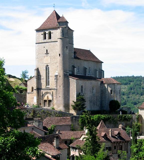 Church in St-Cirq Lapopie