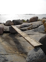 Plank (Aeioux) Tags: uk sea lake freeassociation birmingham rocks sweden plank between aeioux aeiouxbirminghamuk