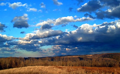Vista (Nicholas_T) Tags: winter sky field weather clouds rural landscape newjersey hills creativecommons stratocumulus warrencounty 123nj whitetownship