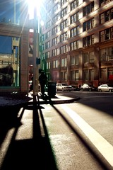 Winter sun (J. Star) Tags: city urban reflections d50 downtown cincinnati photodotocontest1