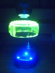 33460009 (Jake of All Trades) Tags: lego levitation lamp glow shelf desk