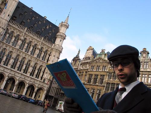Spotlijster gidst ons door Brussel
